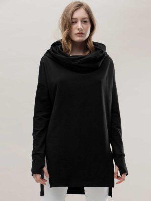 Кофта черная Unisex Noel concept